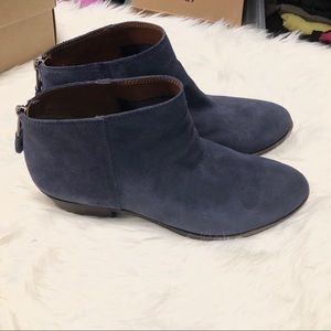 Lucky Brand Shoes - Lucky Brand Bremma Bootie In Moroccan Blue 9
